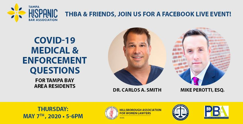 Dr. Carlos Smith Answers COVID Medical Questions on Facebook Live