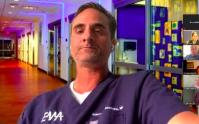 EMA Talks COVID-19 with St. Joseph's Hospital Foundation